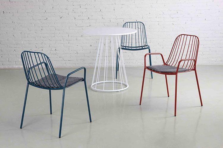 bàn ghế sắt cafe đẹp sân vườn
