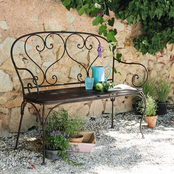 ghế sắt ngoài trời sân vườn hoàng gia 3
