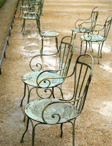 ghế sắt ngoài trời sân vườn chất lượng th