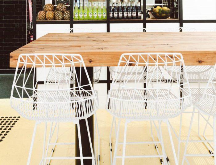 ghế sắt cafe lucy wire đẹp