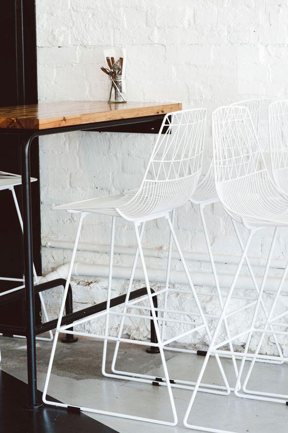 ghế sắt lucy wire