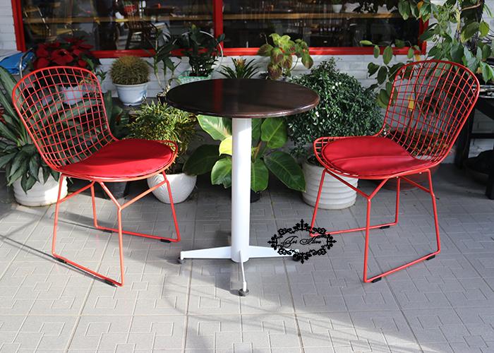 ghế sắt cafe wire đẹp
