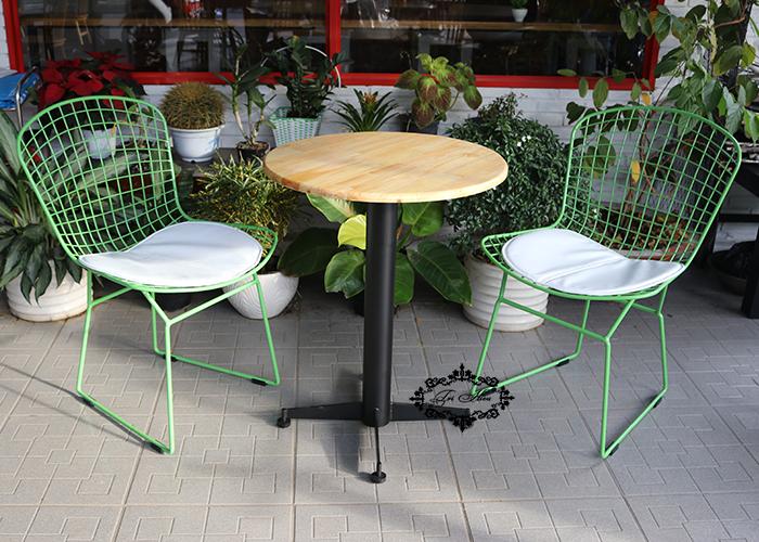 ghế sắt cafe wire xinh