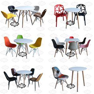 Tổng hợp các mẫu bàn ghế quán cafe giá rẻ
