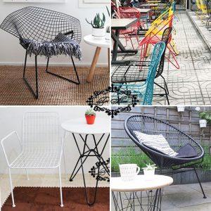 10 mẫu ghế sắt cafe hợp cạ cho mọi không gian