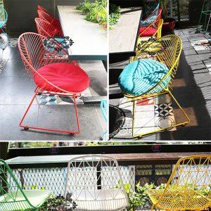 Bàn ghế ngoài trời giá rẻ tại xưởng cho quán cafe