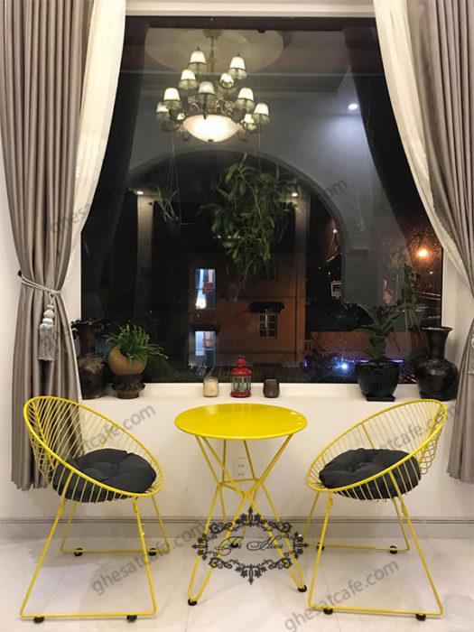 ghế sắt cafe hcm 9
