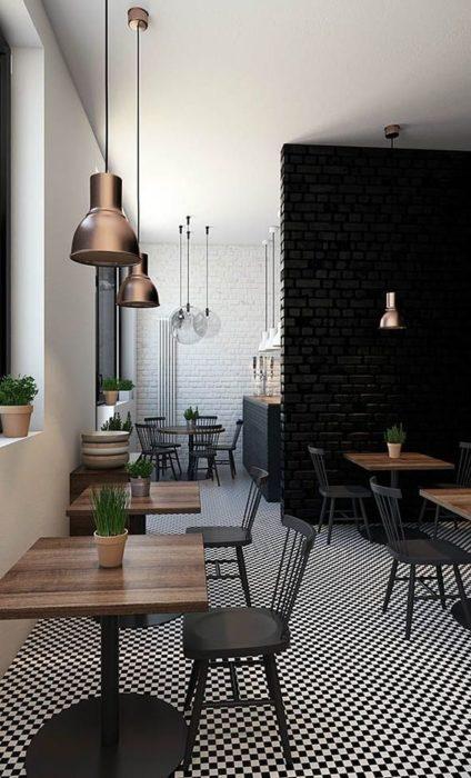 ghế sắt cafe màu phong cách