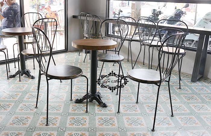 bàn ghế sắt cafe xưởng gia công tphcm 12