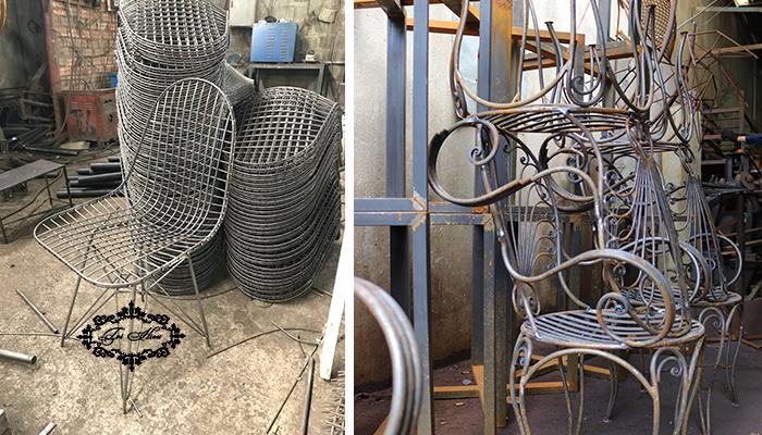 bàn ghế sắt cafe xưởng gia công tphcm 1