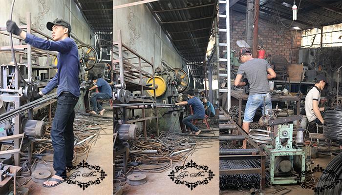bàn ghế sắt cafe xưởng gia công tphcm 3