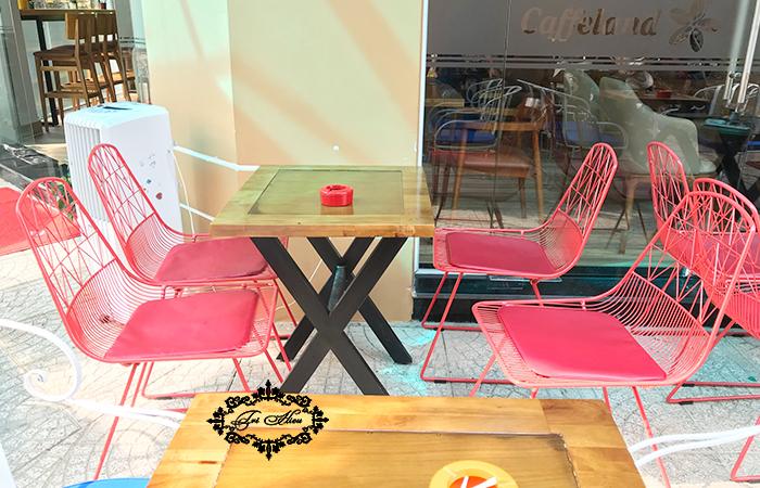 xưởng gia công bàn ghế cafe