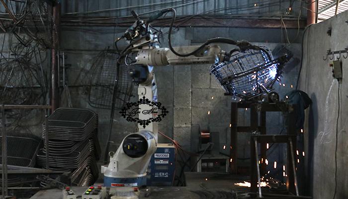 bàn ghế sắt cafe xưởng gia công tphcm 6
