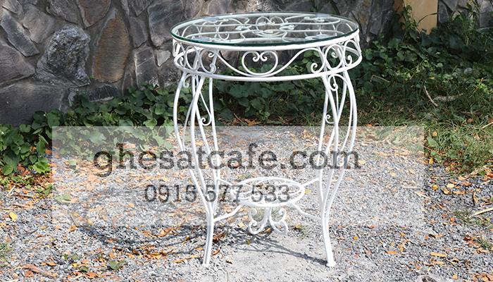 bàn ghế sắt cafe chất lượng 1