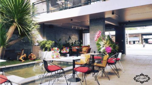 bàn ghế cà phê sắt tphcm 2