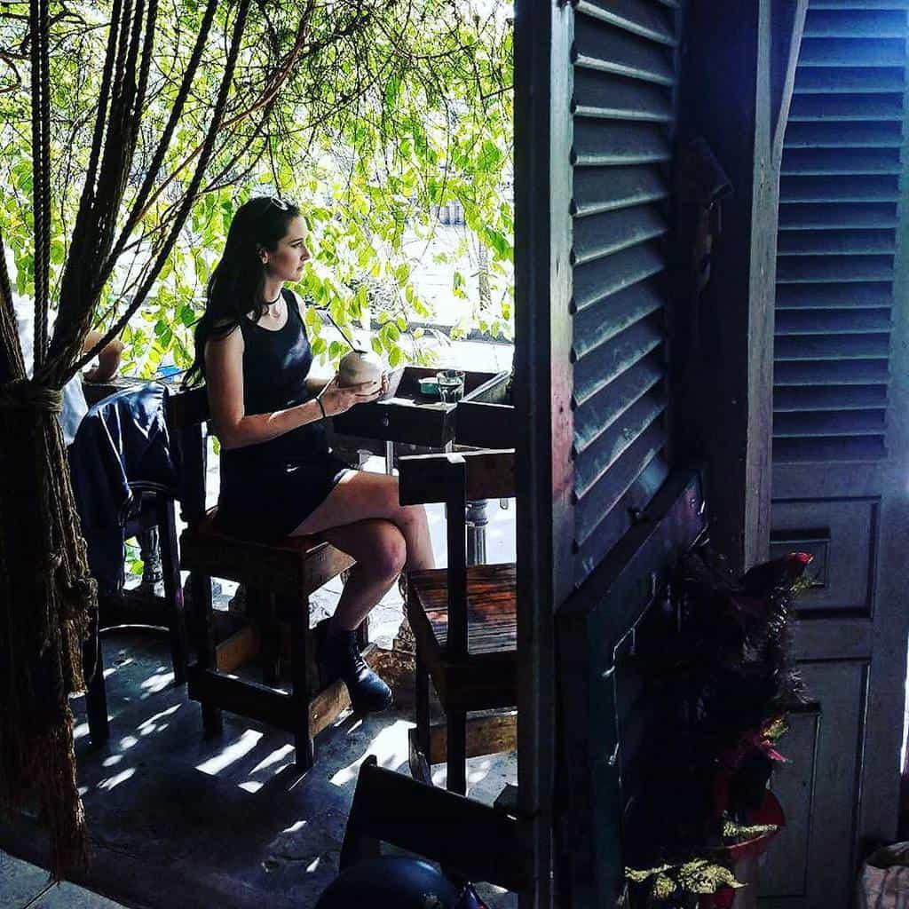 bàn ghế sắt cafe vintage sg ngoài trời 7