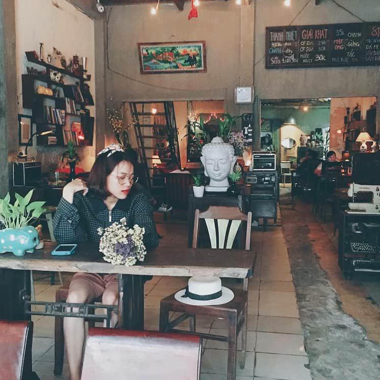bàn ghế sắt cafe vintage