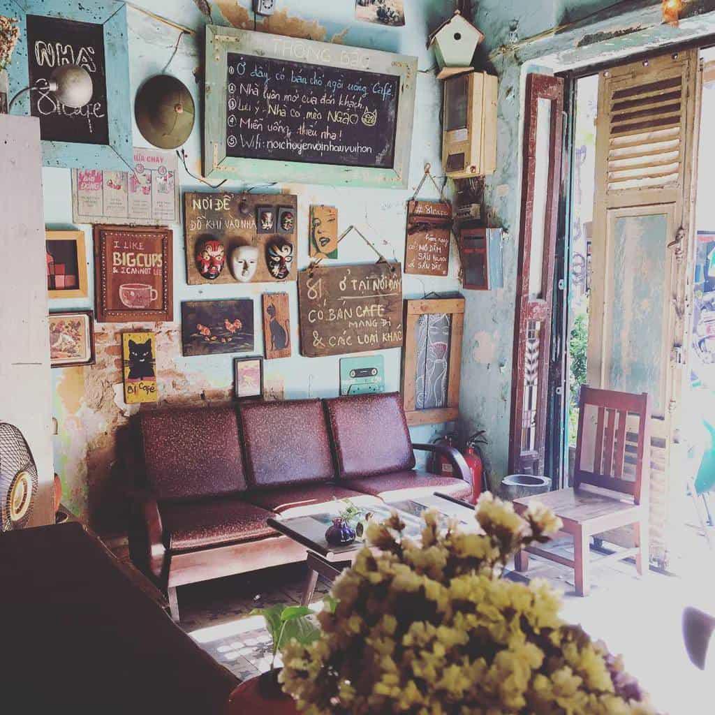bàn ghế sắt cafe vintage đẹp