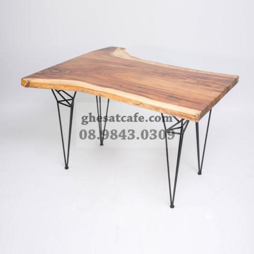 các mẫu bàn gố nguyên tấm cho quán cafe (1)