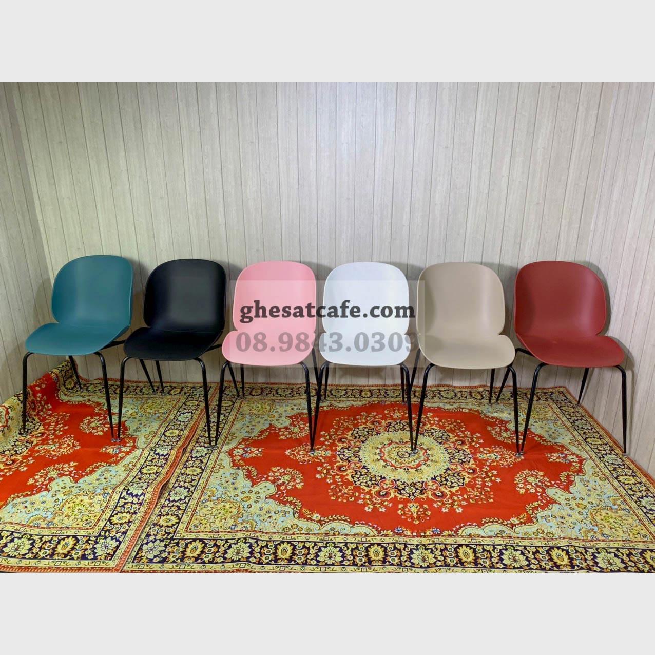 Các mẫu ghế Beetle thân nhựa đẹp (1)