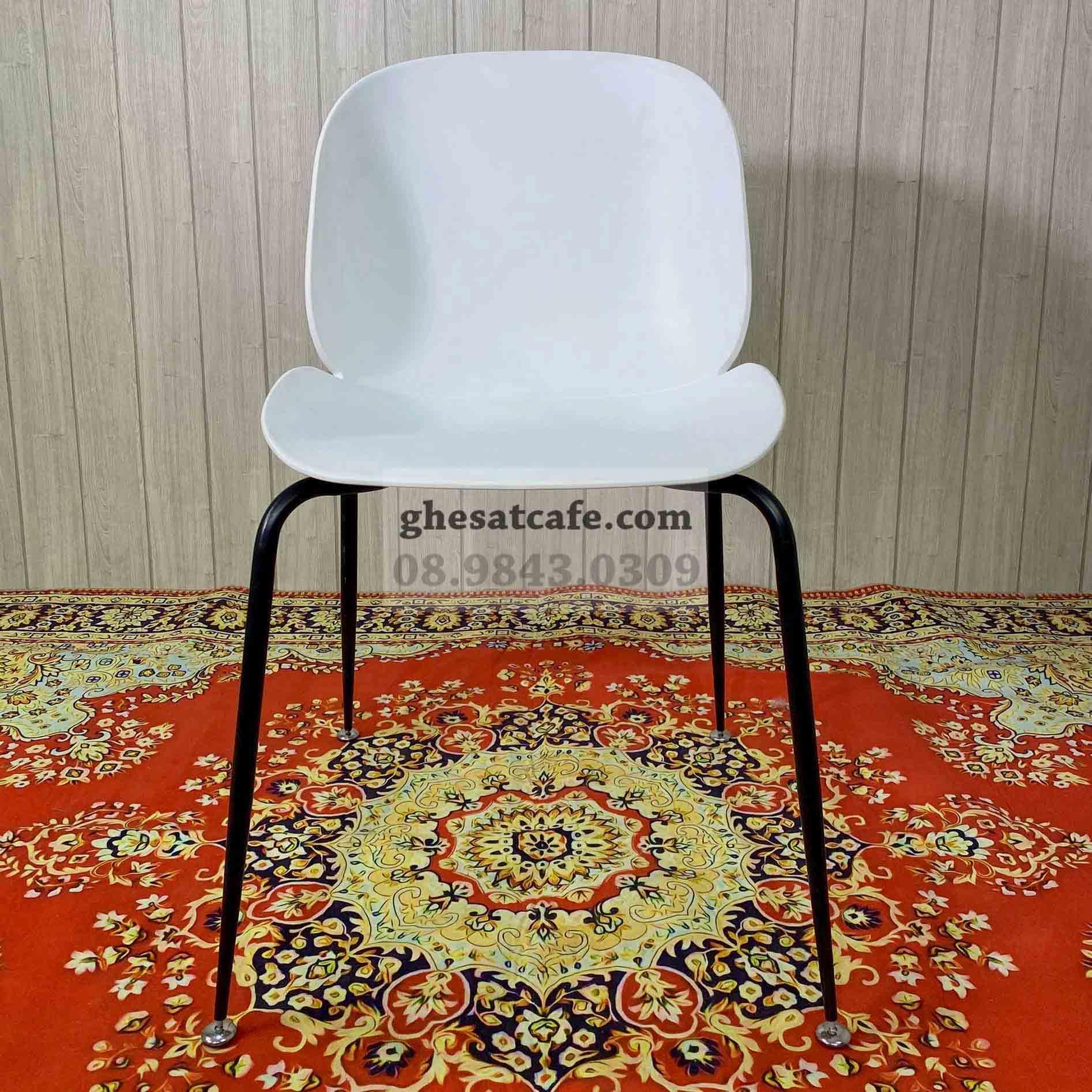 Các mẫu ghế Beetle thân nhựa đẹp (4)