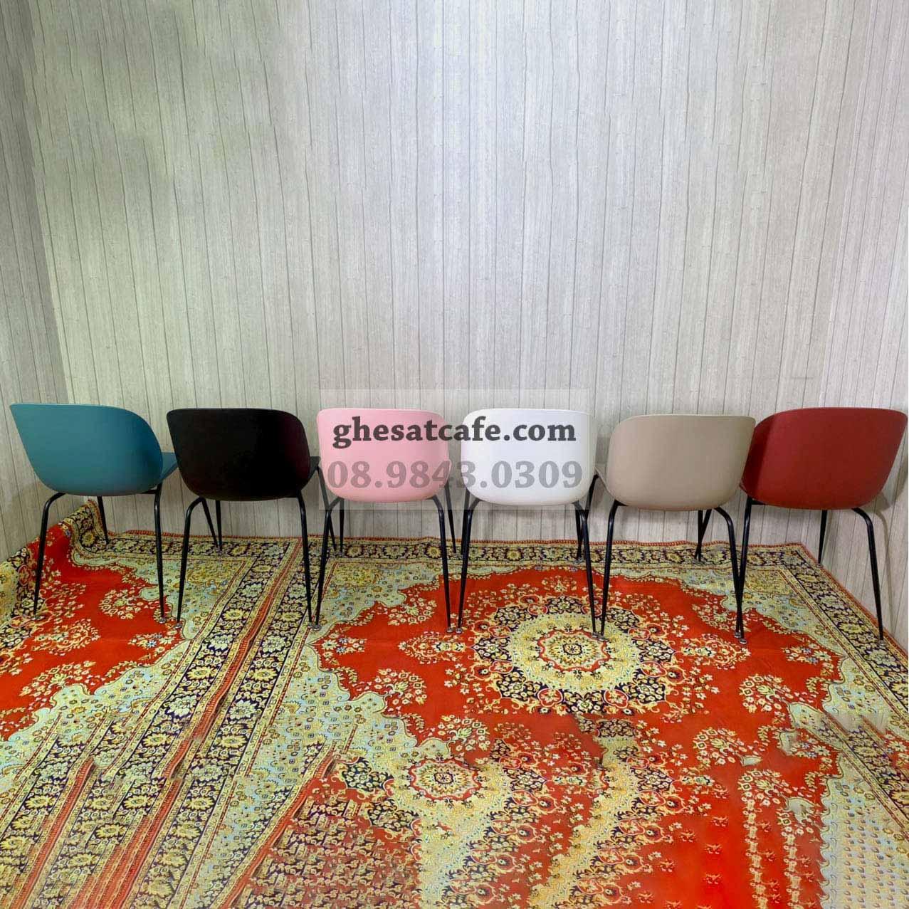 Các mẫu ghế Beetle thân nhựa đẹp (5)