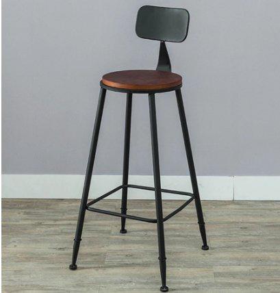 ghế bar chân sắt có lưng tựa (3)