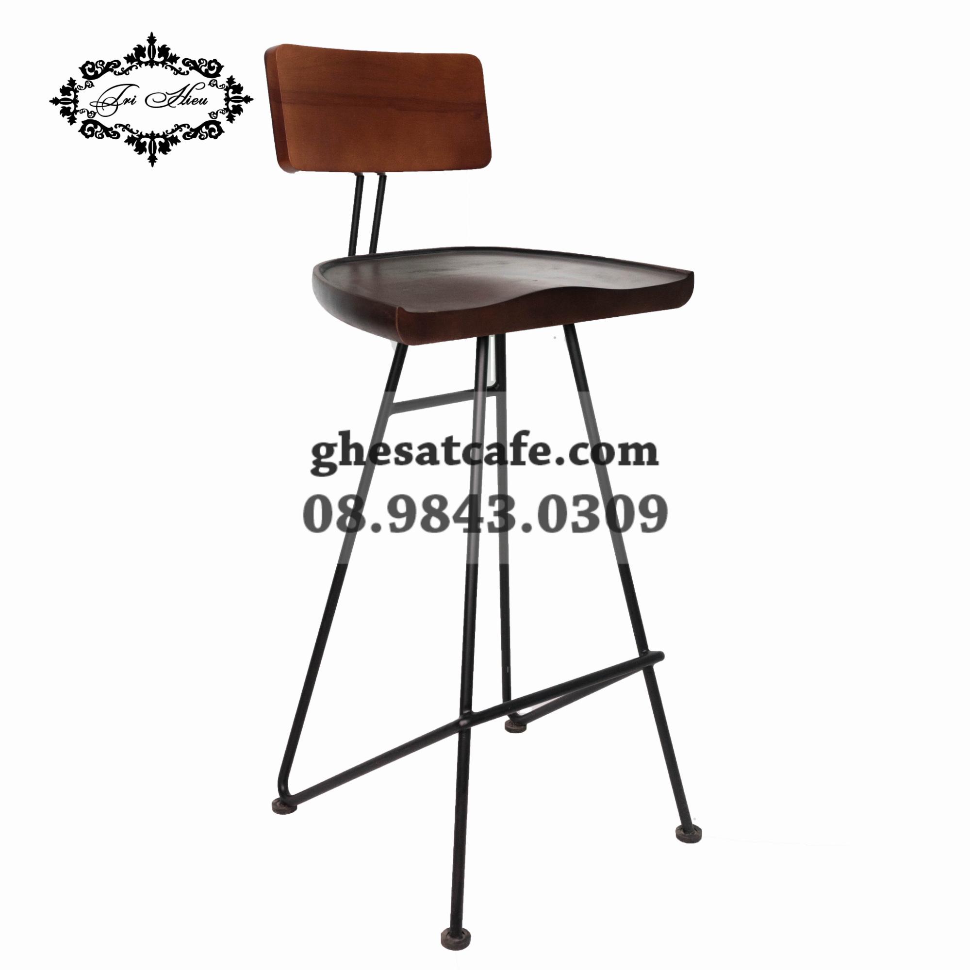 ghế bar chân sắt có lưng tựa (8)