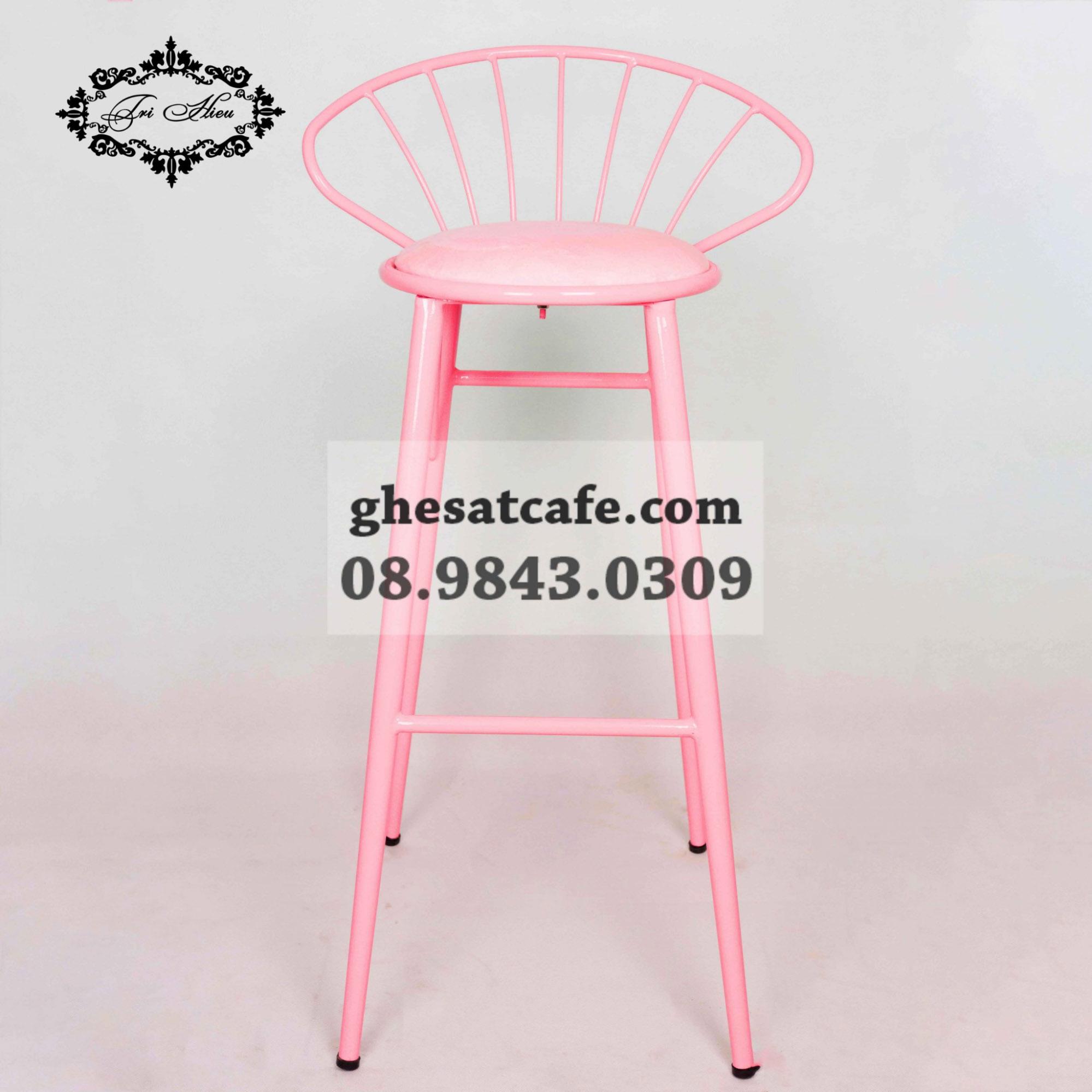 ghế bar màu hồng (1)