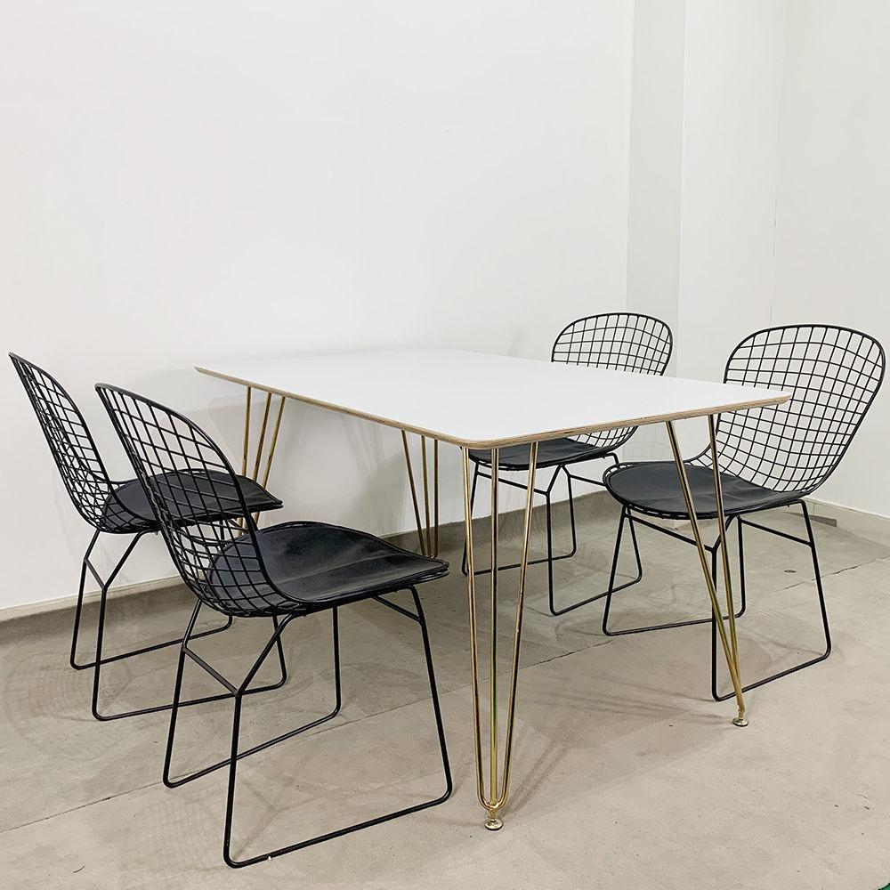 ghế sắt cafe đơn giản