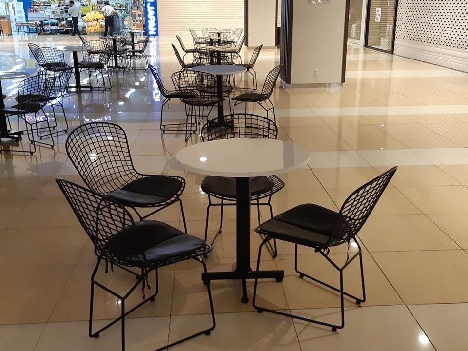 ghế sắt cafe hiện đại