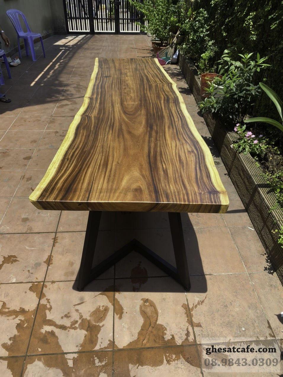 mẫu bàn gỗ nguyên tấm đẹp (3)