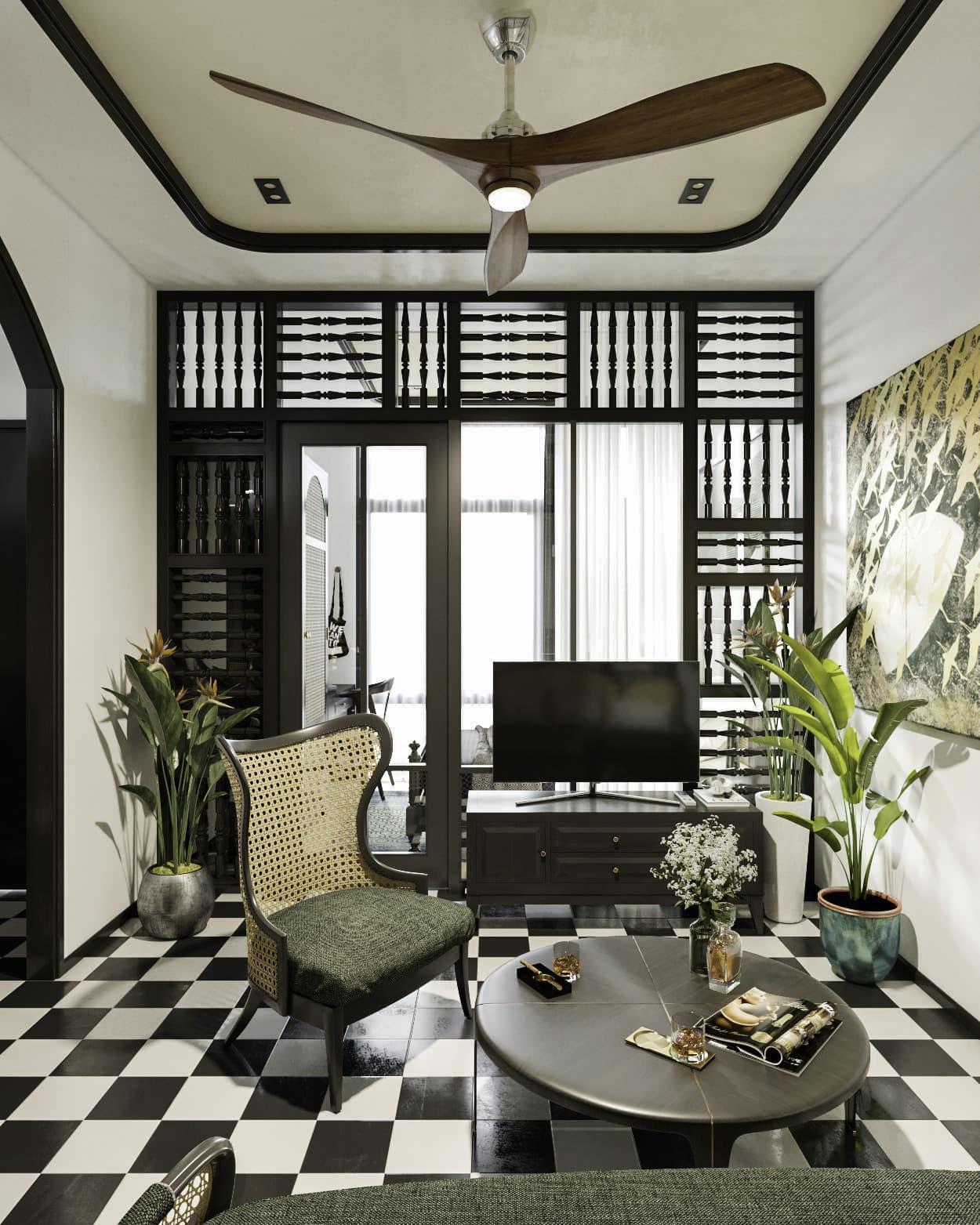 nhà ở phong cách indochine (4)