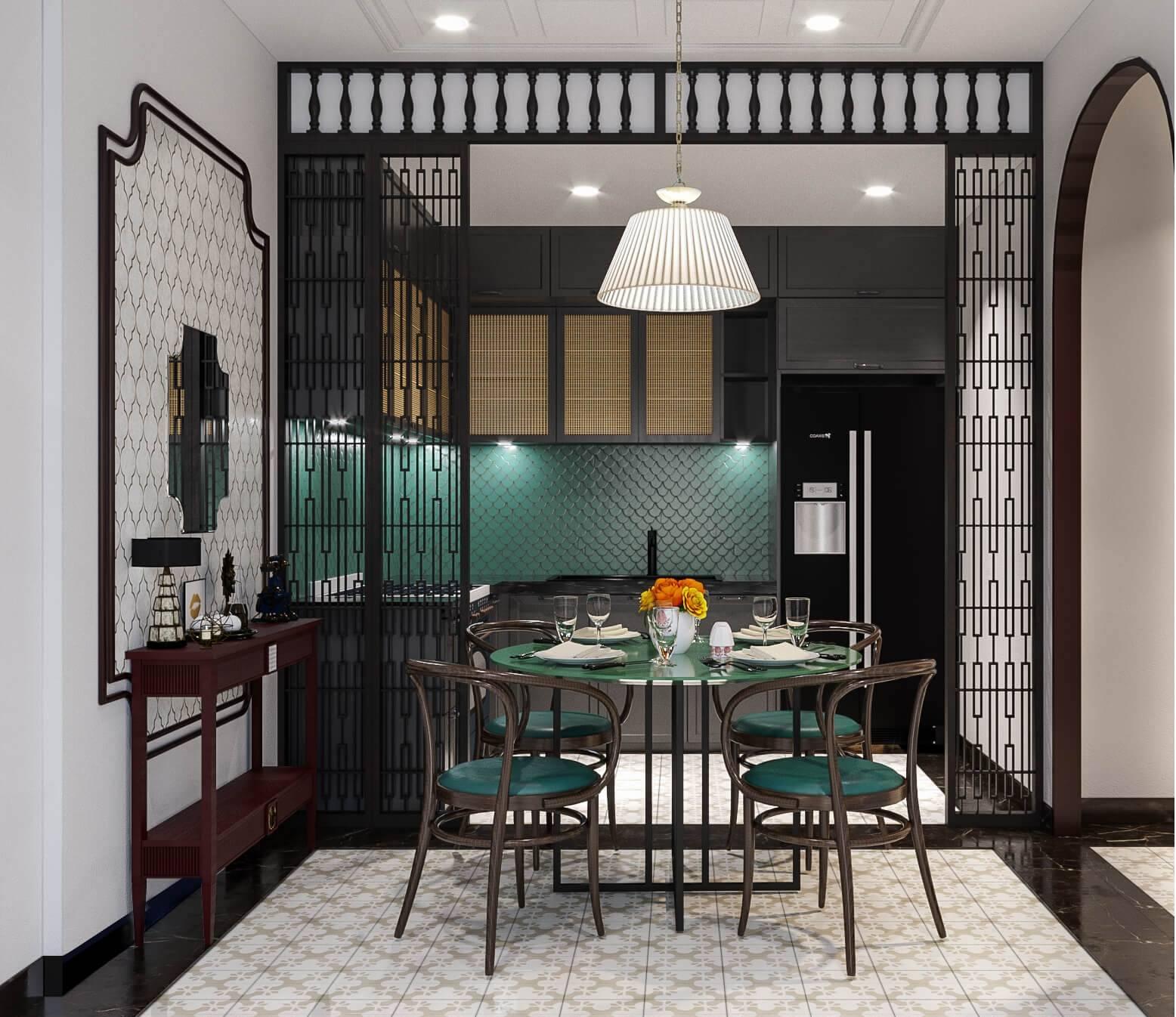 nhà ở phong cách indochine (6)